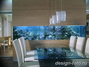 фото Аквариум в интерьере 28.11.2018 №304 - photo Aquarium in the interior - design-foto.ru