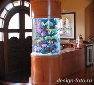 фото Аквариум в интерьере 28.11.2018 №309 - photo Aquarium in the interior - design-foto.ru