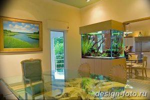 фото Аквариум в интерьере 28.11.2018 №324 - photo Aquarium in the interior - design-foto.ru