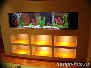 фото Аквариум в интерьере 28.11.2018 №333 - photo Aquarium in the interior - design-foto.ru