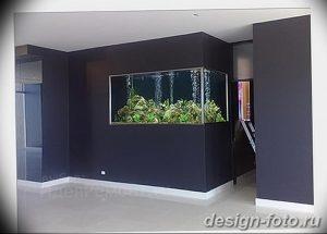 фото Аквариум в интерьере 28.11.2018 №344 - photo Aquarium in the interior - design-foto.ru