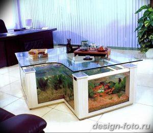 фото Аквариум в интерьере 28.11.2018 №366 - photo Aquarium in the interior - design-foto.ru