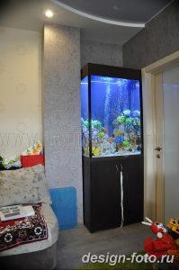 фото Аквариум в интерьере 28.11.2018 №374 - photo Aquarium in the interior - design-foto.ru
