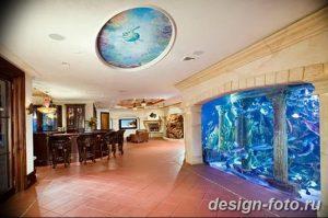 фото Аквариум в интерьере 28.11.2018 №377 - photo Aquarium in the interior - design-foto.ru