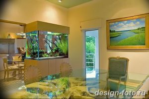 фото Аквариум в интерьере 28.11.2018 №399 - photo Aquarium in the interior - design-foto.ru