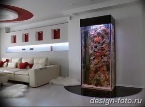 фото Аквариум в интерьере 28.11.2018 №405 - photo Aquarium in the interior - design-foto.ru