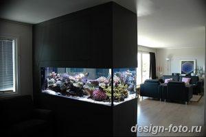 фото Аквариум в интерьере 28.11.2018 №420 - photo Aquarium in the interior - design-foto.ru