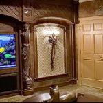 фото Аквариум в интерьере 28.11.2018 №453 - photo Aquarium in the interior - design-foto.ru