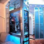 фото Аквариум в интерьере 28.11.2018 №484 - photo Aquarium in the interior - design-foto.ru