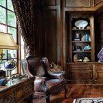 фото Английский стиль в инте 20.01.2019 №099 - English style in the interior - design-foto.ru