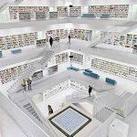 фото Интерьер библиотеки 28.11.2018 №005 - photo Library interior - design-foto.ru