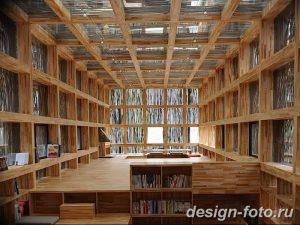 фото Интерьер библиотеки 28.11.2018 №009 - photo Library interior - design-foto.ru