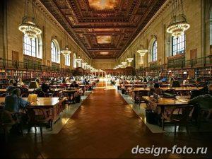 фото Интерьер библиотеки 28.11.2018 №010 - photo Library interior - design-foto.ru
