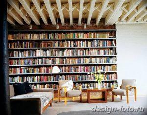 фото Интерьер библиотеки 28.11.2018 №014 - photo Library interior - design-foto.ru