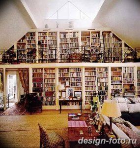 фото Интерьер библиотеки 28.11.2018 №024 - photo Library interior - design-foto.ru
