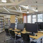 фото Интерьер библиотеки 28.11.2018 №037 - photo Library interior - design-foto.ru