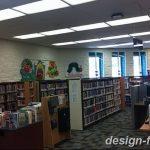 фото Интерьер библиотеки 28.11.2018 №046 - photo Library interior - design-foto.ru
