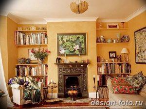 фото Интерьер библиотеки 28.11.2018 №050 - photo Library interior - design-foto.ru