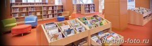 фото Интерьер библиотеки 28.11.2018 №051 - photo Library interior - design-foto.ru