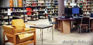 фото Интерьер библиотеки 28.11.2018 №061 - photo Library interior - design-foto.ru