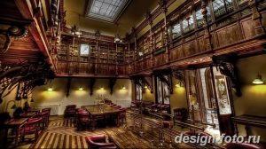 фото Интерьер библиотеки 28.11.2018 №067 - photo Library interior - design-foto.ru