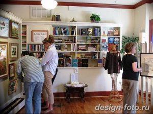 фото Интерьер библиотеки 28.11.2018 №072 - photo Library interior - design-foto.ru