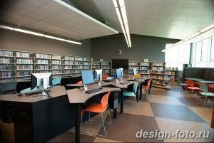 фото Интерьер библиотеки 28.11.2018 №080 - photo Library interior - design-foto.ru