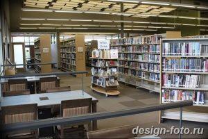 фото Интерьер библиотеки 28.11.2018 №082 - photo Library interior - design-foto.ru