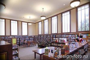 фото Интерьер библиотеки 28.11.2018 №083 - photo Library interior - design-foto.ru