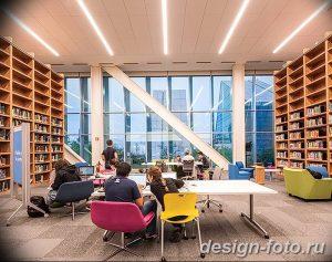 фото Интерьер библиотеки 28.11.2018 №086 - photo Library interior - design-foto.ru