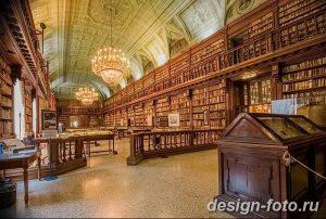 фото Интерьер библиотеки 28.11.2018 №087 - photo Library interior - design-foto.ru