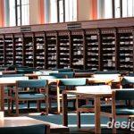фото Интерьер библиотеки 28.11.2018 №088 - photo Library interior - design-foto.ru