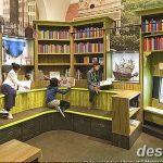 фото Интерьер библиотеки 28.11.2018 №090 - photo Library interior - design-foto.ru
