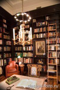 фото Интерьер библиотеки 28.11.2018 №094 - photo Library interior - design-foto.ru