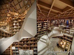 фото Интерьер библиотеки 28.11.2018 №099 - photo Library interior - design-foto.ru