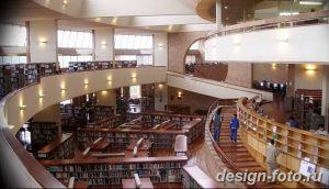 фото Интерьер библиотеки 28.11.2018 №147 - photo Library interior - design-foto.ru