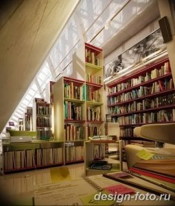 фото Интерьер библиотеки 28.11.2018 №153 - photo Library interior - design-foto.ru