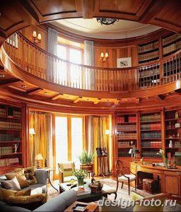 фото Интерьер библиотеки 28.11.2018 №154 - photo Library interior - design-foto.ru