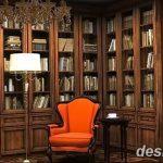 фото Интерьер библиотеки 28.11.2018 №181 - photo Library interior - design-foto.ru