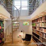 фото Интерьер библиотеки 28.11.2018 №196 - photo Library interior - design-foto.ru