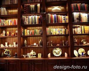 фото Интерьер библиотеки 28.11.2018 №208 - photo Library interior - design-foto.ru