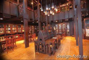 фото Интерьер библиотеки 28.11.2018 №245 - photo Library interior - design-foto.ru