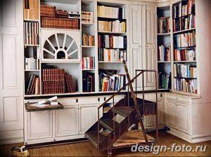 фото Интерьер библиотеки 28.11.2018 №252 - photo Library interior - design-foto.ru