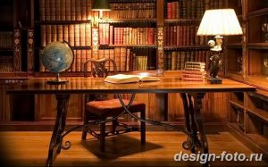 фото Интерьер библиотеки 28.11.2018 №255 - photo Library interior - design-foto.ru