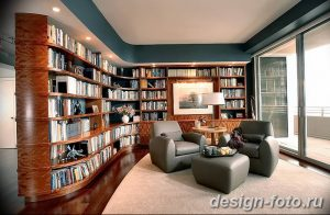 фото Интерьер библиотеки 28.11.2018 №258 - photo Library interior - design-foto.ru
