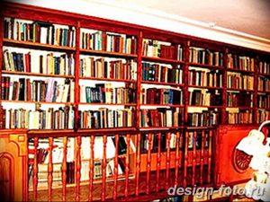 фото Интерьер библиотеки 28.11.2018 №263 - photo Library interior - design-foto.ru