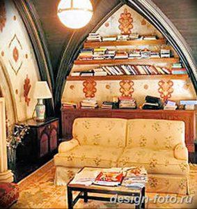 фото Интерьер библиотеки 28.11.2018 №269 - photo Library interior - design-foto.ru