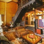 фото Интерьер дачи 21.01.2019 №130 - photo Interior cottages - design-foto.ru