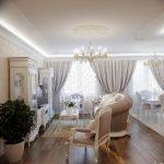 фото Интерьер квартиры в классическом стиле №094 - interior in classic - design-foto.ru