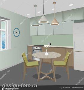 фото Интерьер современной кухни 21.01.2019 №183 - modern kitchen - design-foto.ru